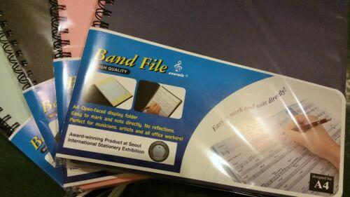 Professional Music Folder INTERNATIONAL STATIONARY AWARD PRODUCT A4 30page Black