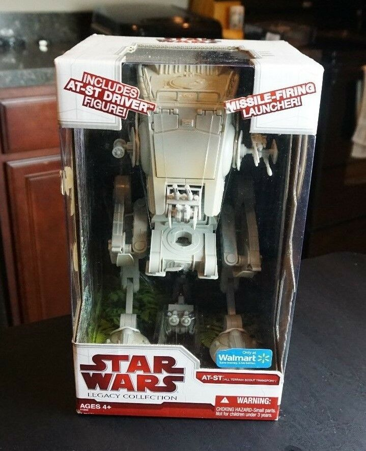 AT-ST Walker 2009 STAR WARS The Legacy Collection Walmart EXCLUSIVE MIB