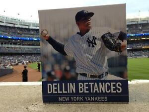 DELLIN-BETANCES-FIGURINE-NEW-YORK-YANKEES-SGA-STADIUM-LIMITED-EDITION-RARE-NY-X