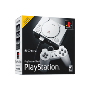 SONY-PlayStation-One-Classic-Console-mini-20-Games-PS1-NEW
