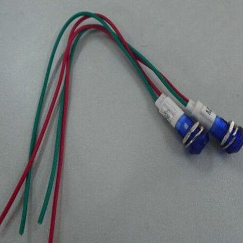 10PCS,Blue Led Power ON//OFF Pilot Indicator Light 3V 6V 9V 12V,10B n