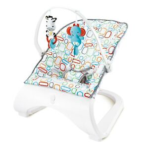 Stylish-Vogue-Baby-Rocker-Modern-Bouncer-Chair-With-Music-amp-Vibrations