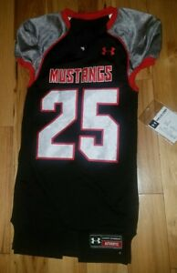 Image is loading Mens-Under-Armour-SMU-Mustangs-Football-Jersey-Medium- 873c205a0