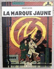 Blake et Mortimer la marque jaune Jacobs 2001 TéléMoustique