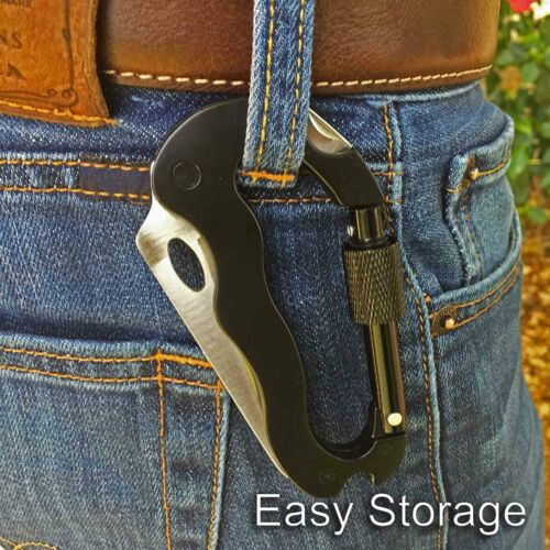 Strong Clip for Camping Carabiner Hanger with Rotating Folding Hook Travel,US