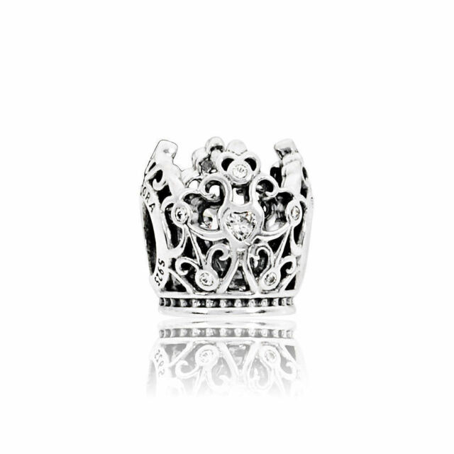 ale S925 Fine Charms & Charm Bracelets Pandora Disney Princess Crown Charm Jewelry & Watches