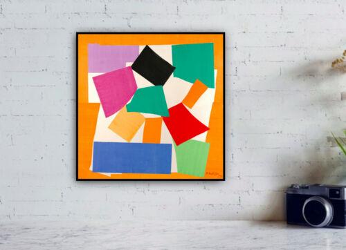 "Expressionism 1953/"" Artwork print Wall Decor Henri Matisse /""The Snail"