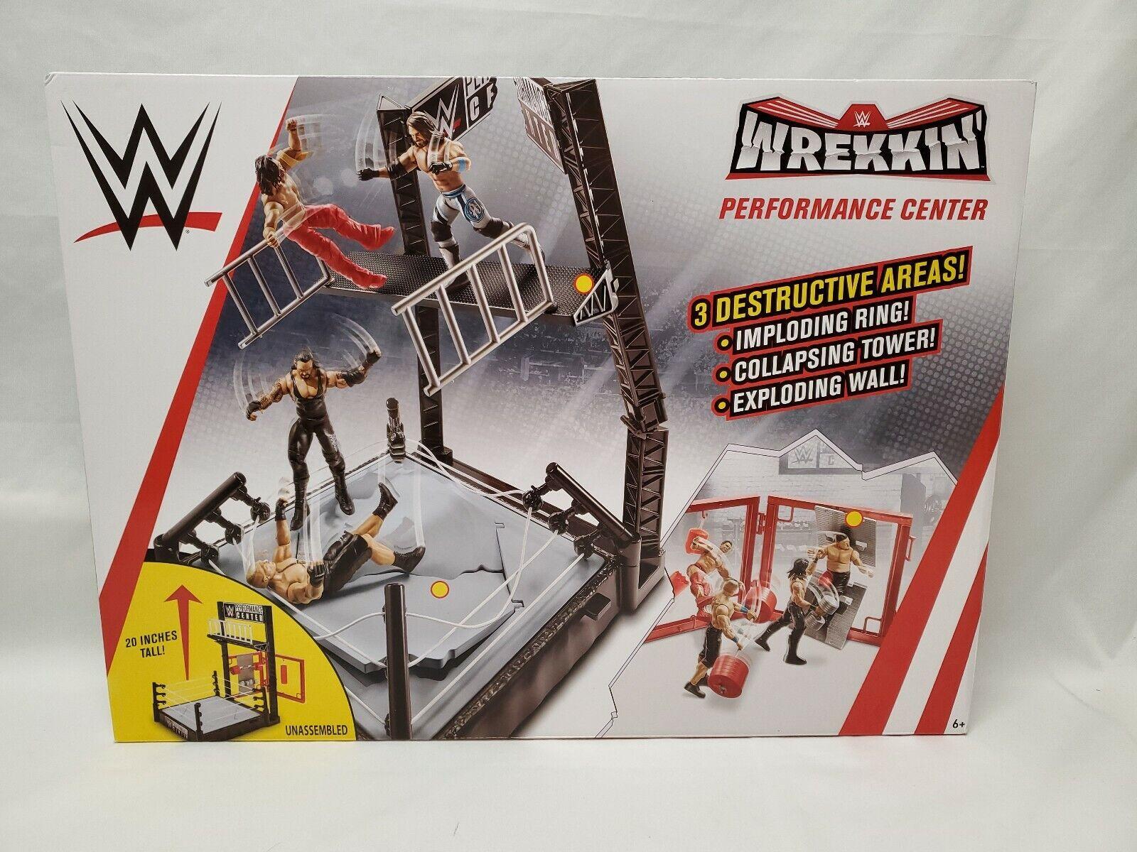WWE Performance Center Wrekkin 3 Destructive Areas Playset