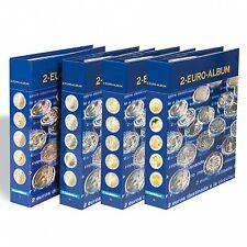 Leuchtturm - NUMIS 2-EURO-Vordruckalbum aller Euro-Länder, Band 1 bis 4