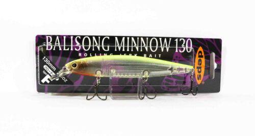 Deps Balisong Minnow 130F 3//4 oz Schwimmend Köder 38 1384
