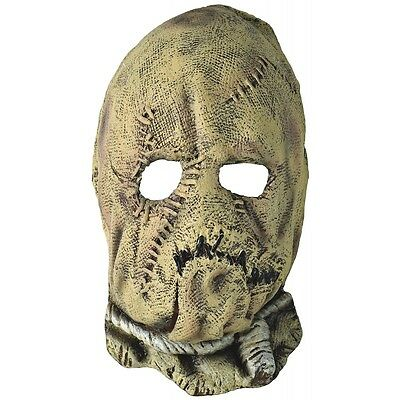 Scarecrow Costume Mask Kids Batman Begins Scary Horror Halloween Fancy Dress