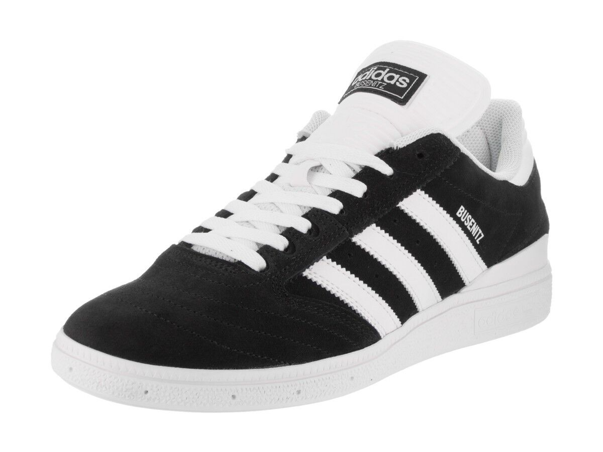 Adidas BUSENITZ Noir blanc blanc Casual Skateboarding BB8434 (396) Men's Shoes