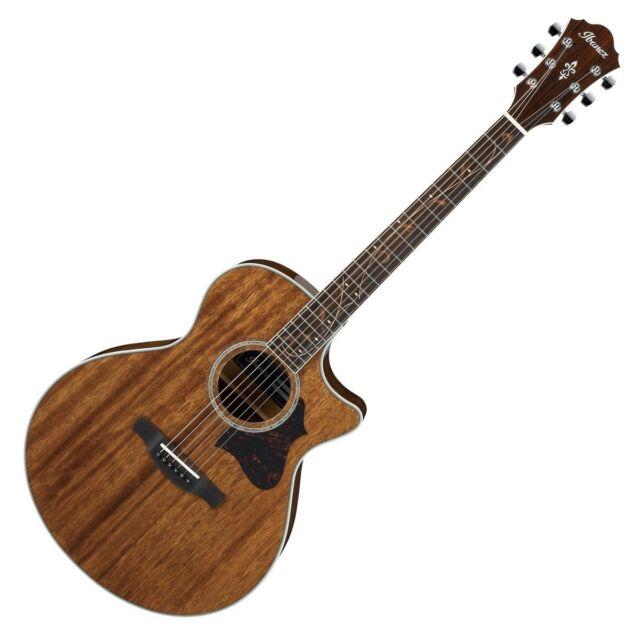 Ibanez AE245 Mahog Electro Acoustic Guitar, Natural High Gloss - AE245-NT