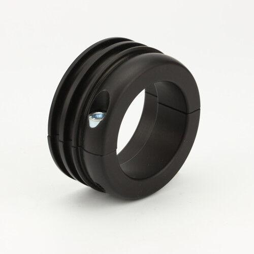 Antriebsrad Alu schwarz 40 mm für Wasserpumpe Kart Kühler