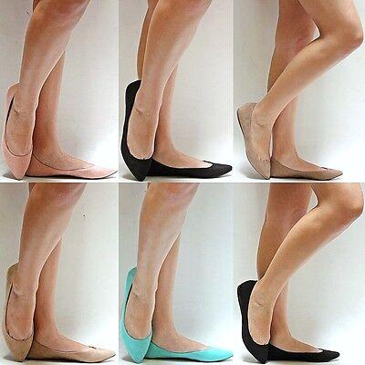 New Women BTa1 Black Beige Mint Pointed Ballet Pointy Flats sz 6 to 11
