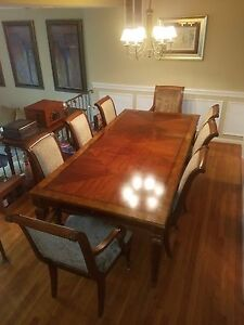 Ordinaire Image Is Loading Excellent Quality Ethan Allen Goodwin Dining Room Table
