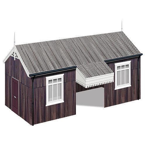 HORNBY Skaledale R9821 Wayside Halt Building - OO Gauge Buildings