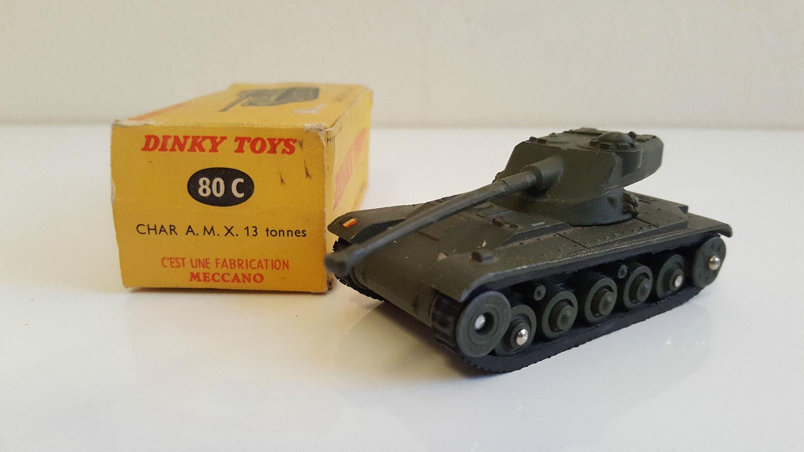 Dinky Toys - 80 C - Char  AMX 13 Tonnes  magasin d'usine de sortie
