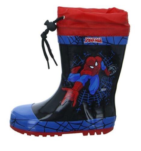1476 Marvel Spiderman SP004526 Boys Rainboots EU28 RRP£24