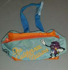 California Raisins fanny pack zippered waist pouch vintage