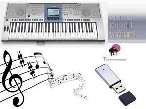 Details about MIDI File Karaoke USB stick for PSR 1500 Vol 3 NEW