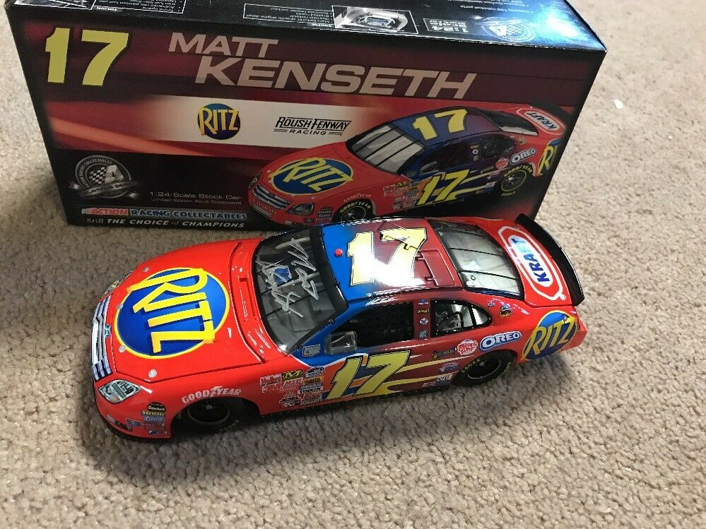 2008 1 24 Matt Kenseth Ritz Kraft Autographed Car Rare