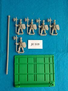 Battle-Masters-5-Soldados-de-Infanteria-del-Imperio-con-Base-de-Unidad-JU319