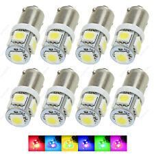 8 x White T11 BA9S T4W H6W 1985 363 5-SMD LED Car Wedge Side Light Bulb Lamp