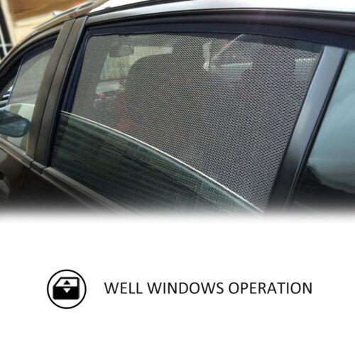AD MAGNETIC CAR WINDOW SUN SHADE BLIND REAR DOOR FOR MAZDA CX-5 CX5 2017-2018