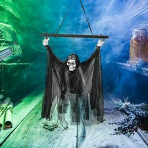Halloween-Hanging-Ghost-Decor-Party-Horror-Ghost-Props-Skeleton-Voice-Control