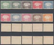 1937 Aden Mi.1/10 */MLH Freimarken Definitives Dau Dhow [st1231]