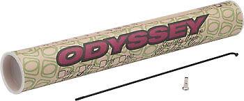 Nouveau Odyssey Acier Inoxydable 14 G Spokes 186 mm boîte noire de 40 comprend a Parlé Des Mamelons