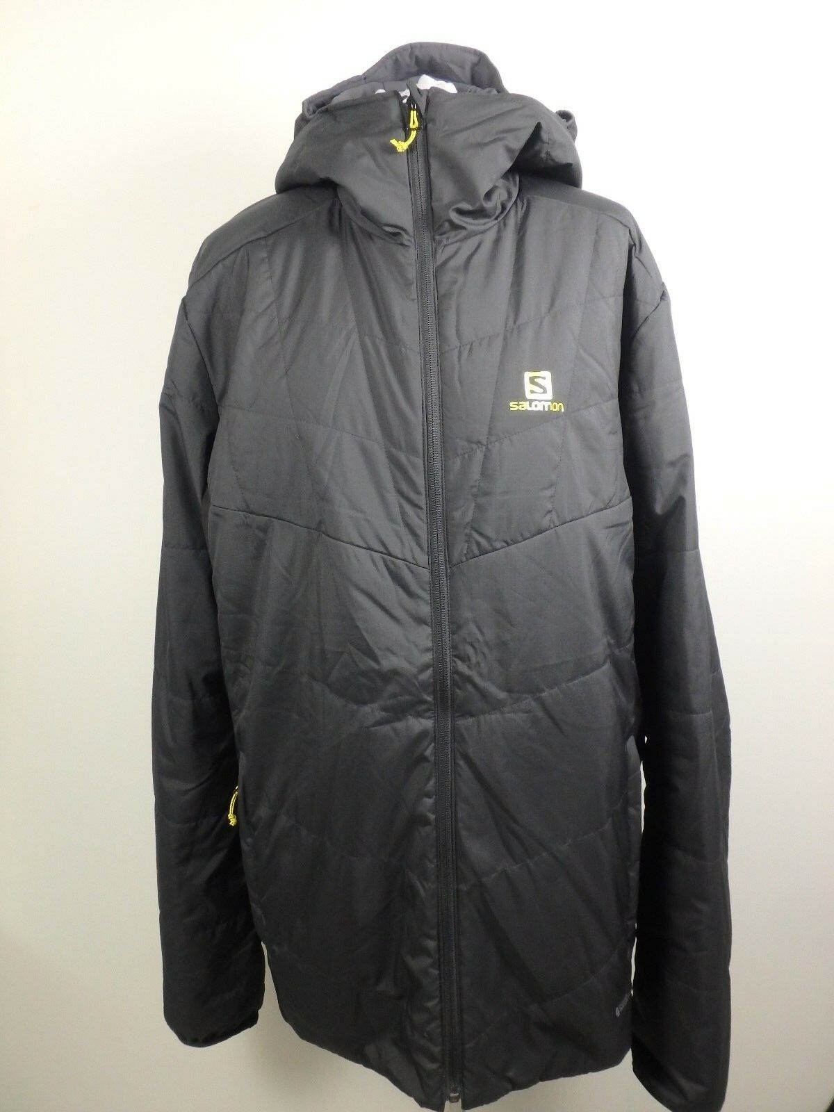 Salomón  28162 Drifter inflexión chaqueta chaqueta función chaqueta señores talla XL negro