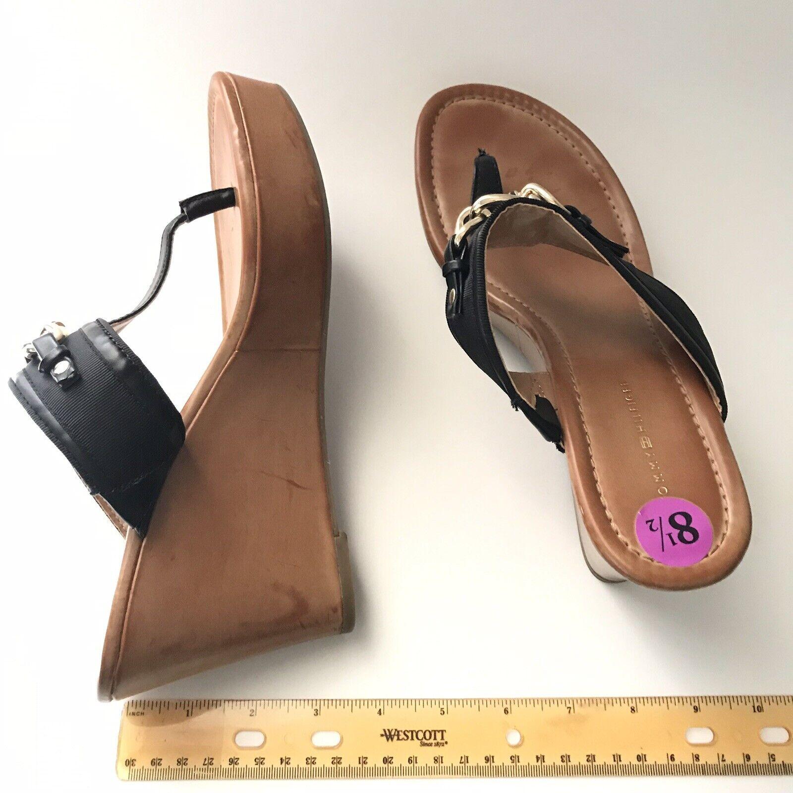tommy hilfiger Womens Sandal Size 8.5M Melane Tho… - image 4
