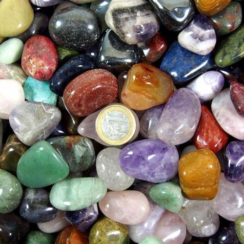 Qualität Stone 750 g XL Trommelsteine Edelsteine Heilsteine Massagesteine Top