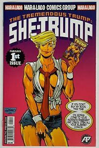 Tremendous-Trump-She-Trump-Sensational-She-Hulk-1-Homage-RARE-Parody-GEMINI