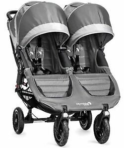 Baby Jogger City Mini GT Double Steel/Gray Standard Double Seat Stroller