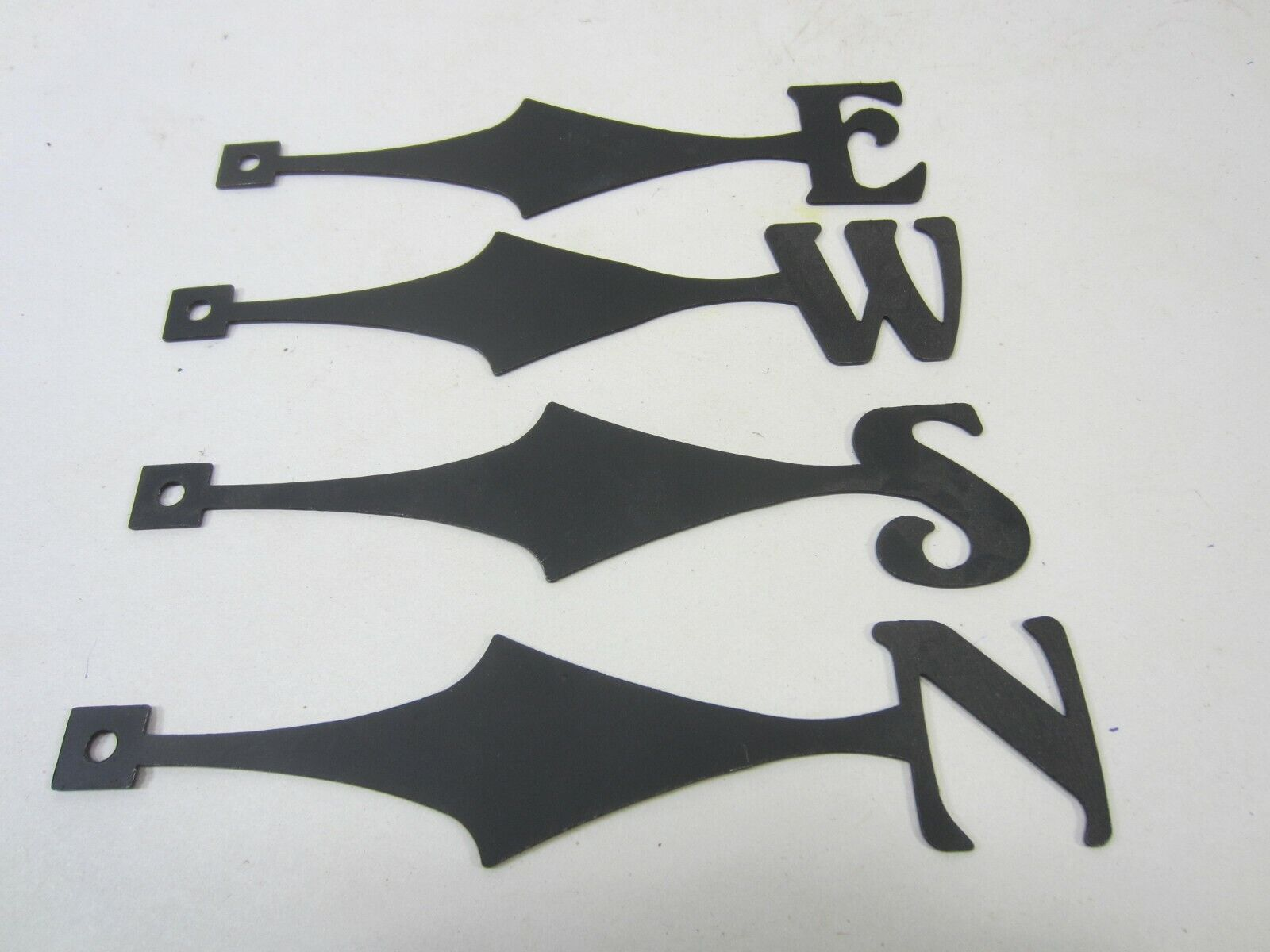 4 Steel Weathervane Arms- North, East, West and South