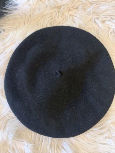 """Elosegui Basque Beret Black Wool """"Super Lujo"""" Spai"""