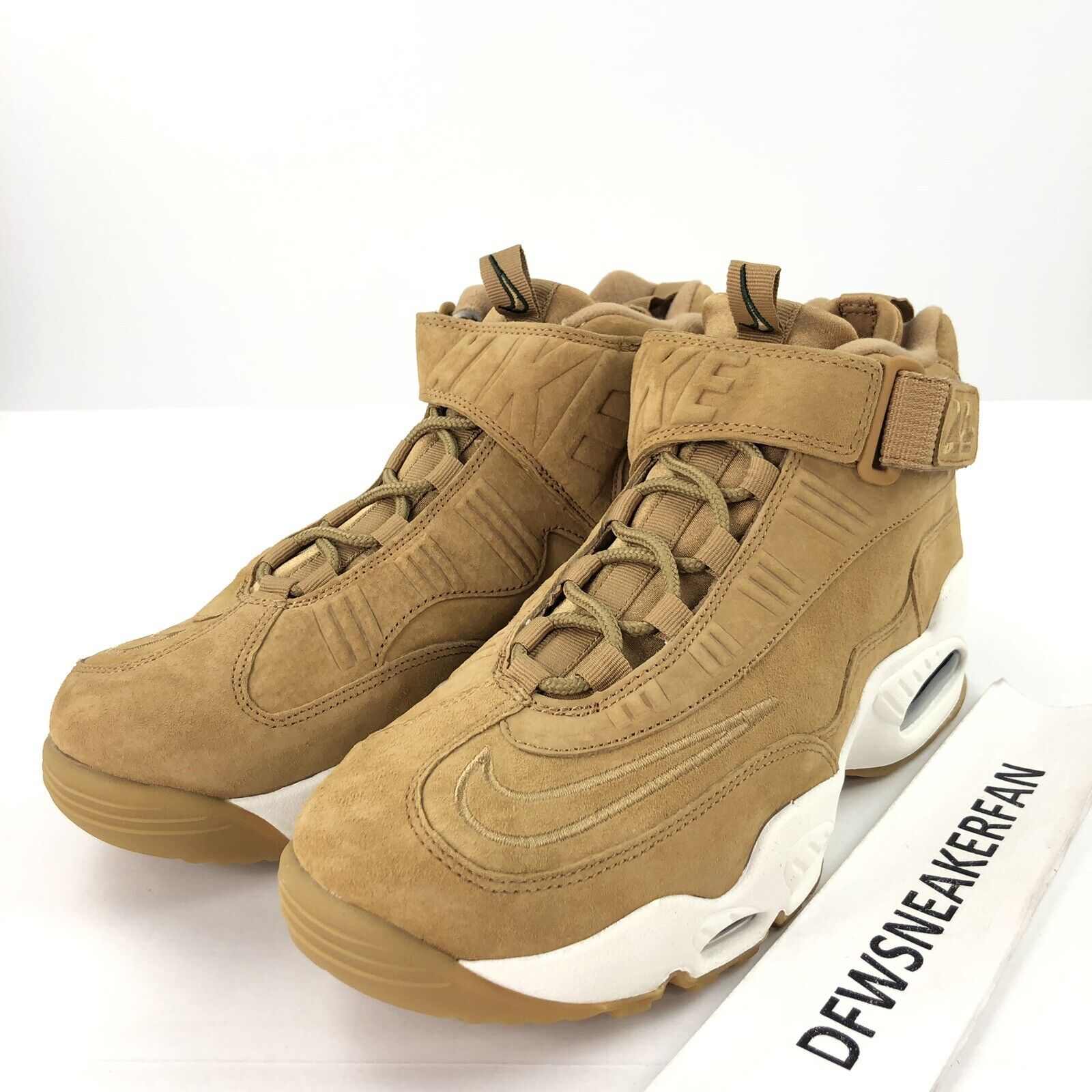 competitive price 4d8c7 feead Nike Air Griffey Max 1 Men s 9.5 Wheat Tan Flax Sail shoes 354912-200 Gum  shoes njutxk7021-Men s Athletic Shoes