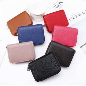 Men-Women-Wallet-Leather-ID-Credit-Card-Holder-RFID-Blocking-Zipper-Cash-Pocket