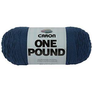 Caron-One-Pound-Solids-Yarn-4-Medium-Gauge-100-Acrylic-16-Oz-Ocean