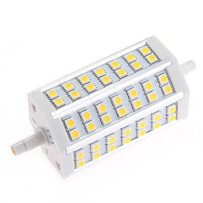 R7s / J118 dimmbar 118mm 42 5050 SMD LED 10W Strahler Lampe Flutlicht Warmweiß