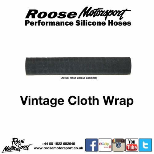 Roose Motorsport 1 Metre Straight Oil Resistant Breather Silicone Hose