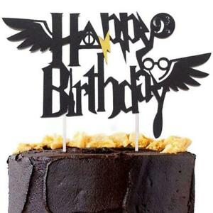 Image Is Loading Harry Potter Happy Birthday Cake Topper Bunting Party