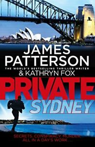 Private-Sydney-by-Patterson-James-Paperback-Used-Book-Good-FREE-amp-FAST-Deliv