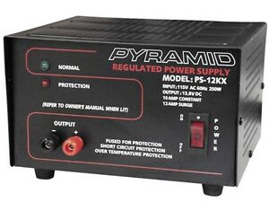 New-Pyramid-PS12KX-PS-12KX-10-Amp-13-8V-Constant-Regulated-AC-DC-Power-Supply