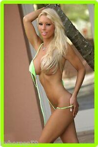 Teen In Green Thongs 46
