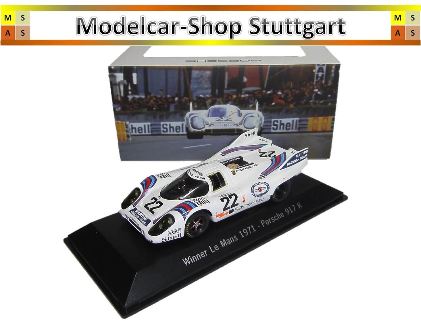 Porsche 917K Winner Le Mans 1971 Spark 1 43 map02027113 BRAND NEW