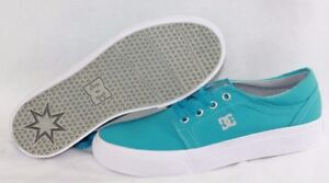 New Original Kids Sneaker DC Shoes Trase TX  Girls YOUTH Powder Blue